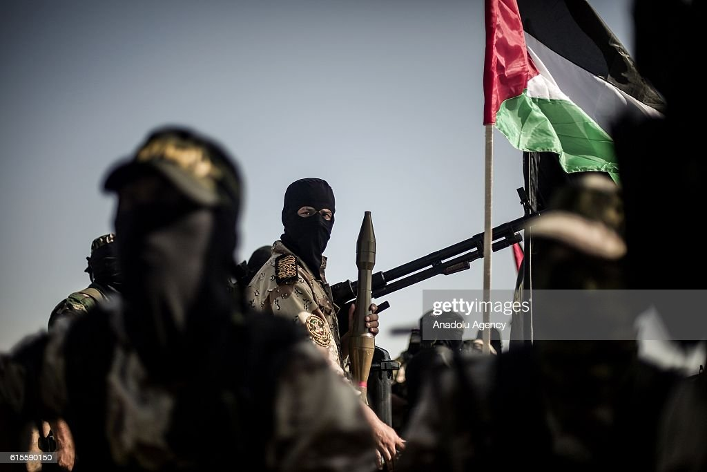 29th foundation anniversary of Palestinian Islamic Jihad Movement : News Photo