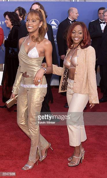Members of Angel arrive at the 43rd Annual Grammy Awards at Staples Center in Los Angeles CA on February 21 2001 Photo credit Kevin Winter/Getty...