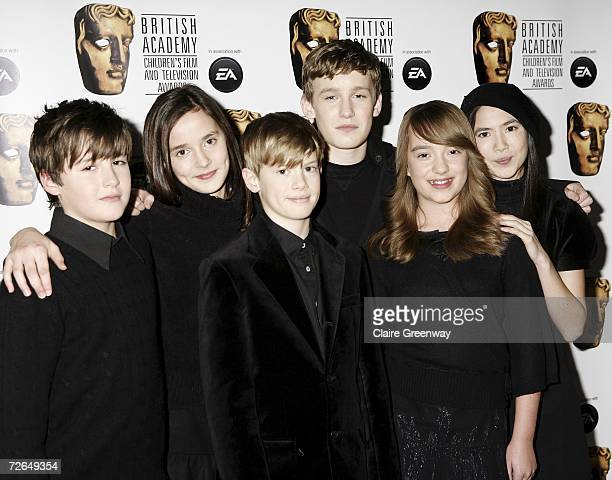 Members of Angelis arrive at the 11th British Academy Children's Film Television Awards at the Park Lane Hilton hotel on November 26 2006 in London...