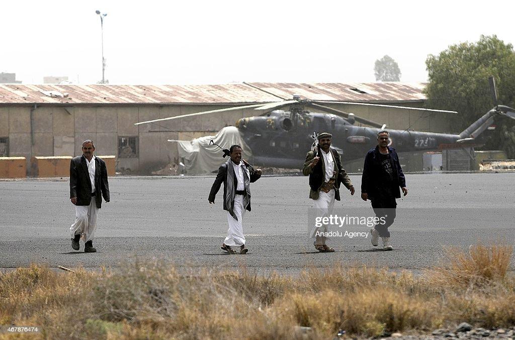 'Decisive Storm' operation in Yemen : News Photo