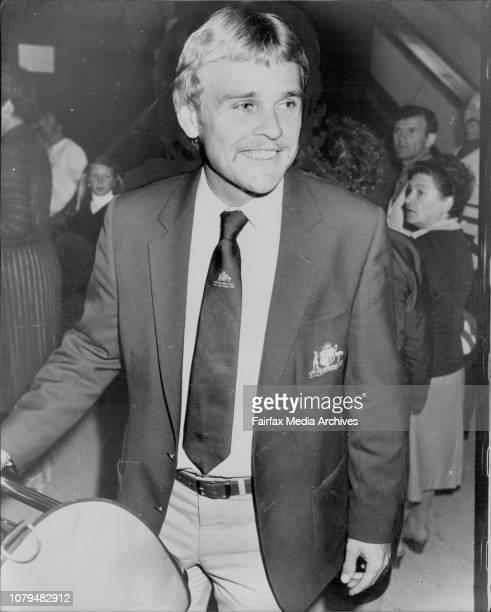 NSW Members of Australian Cricket Team Dirk Wellham September 5 1981