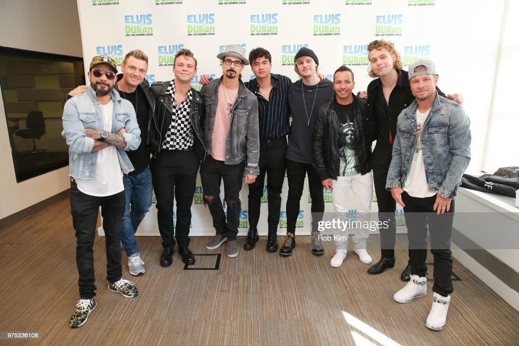 "The Backstreet Boys Visit ""The Elvis Duran Z100 Morning Show"" : ニュース写真"