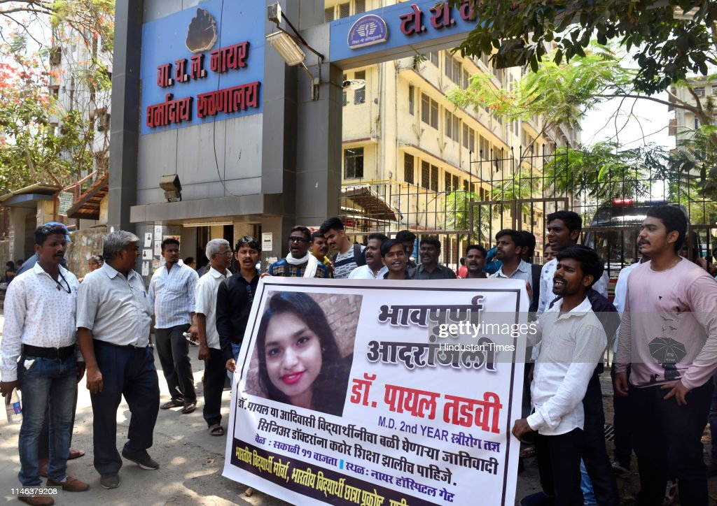 IND: Members Of Bahujan Mukti Party Protest Against The Senior Doctors In Suicide Case