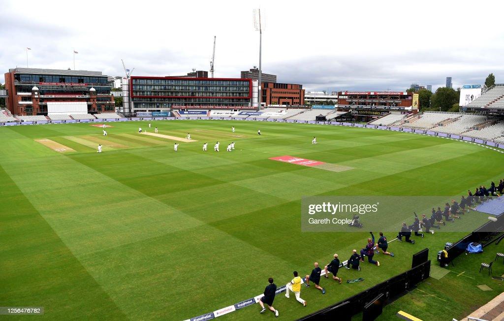 England v West Indies: Day 1 - Second Test #RaiseTheBat Series : ニュース写真