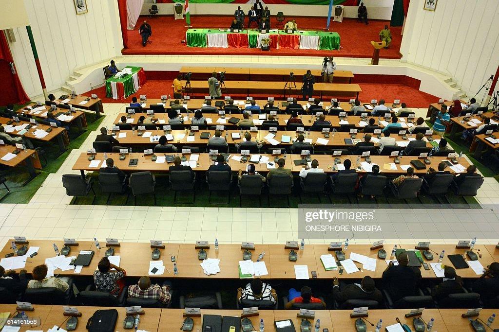 BURUNDI-UNREST-ICC : News Photo
