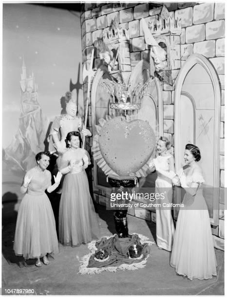 Members of Caridas 6 January 1958 Mrs West WoodMrs Robert L HicksMrs Otto S AberMrs Richard C ColyearMrs Eric StaceyMrs Gilbert G Keppler Caption...