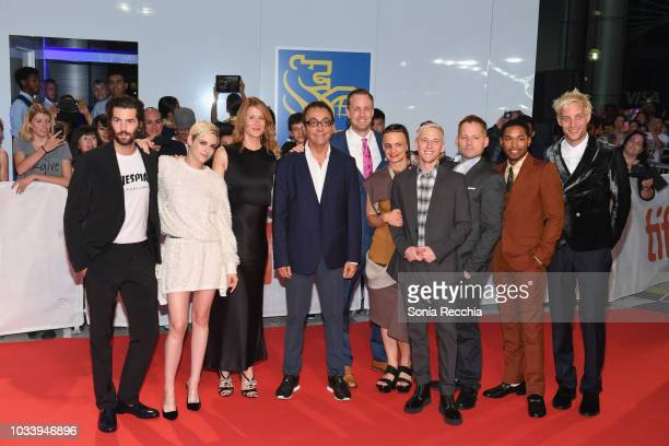 Members of Cast and crew attend the 'Jeremiah Terminator LeRoy' Premiere during 2018 Toronto International Film Festival at Roy Thomson Hall on...
