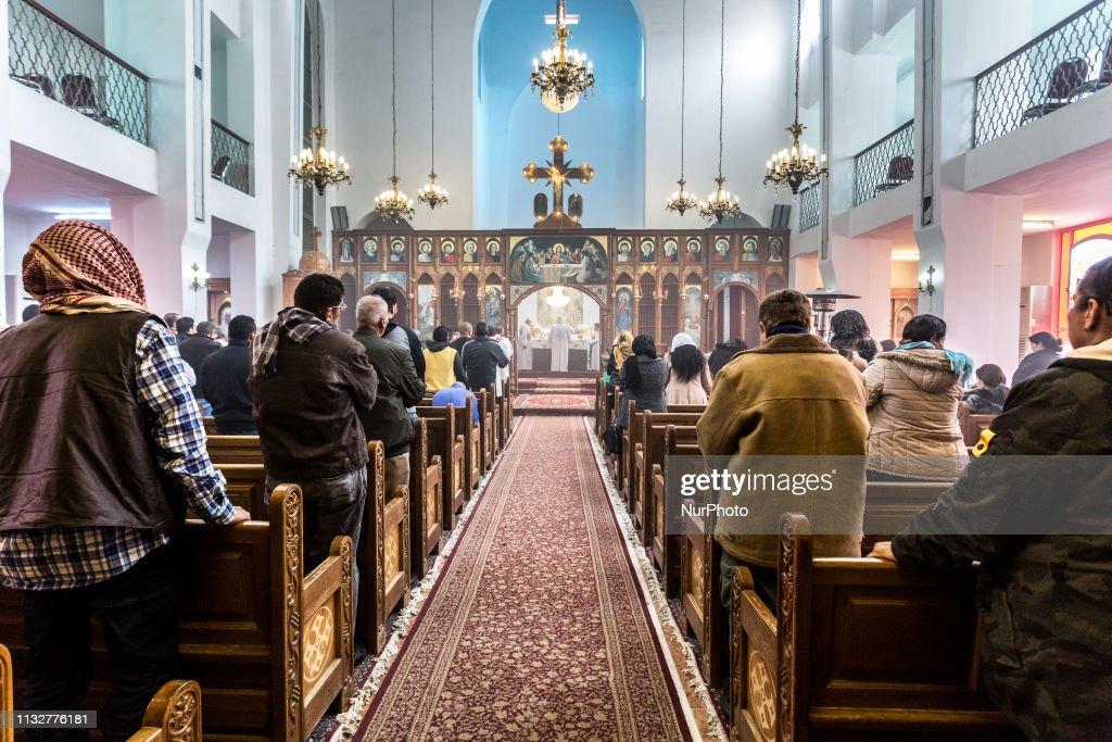 Christian Communities In Amman : News Photo