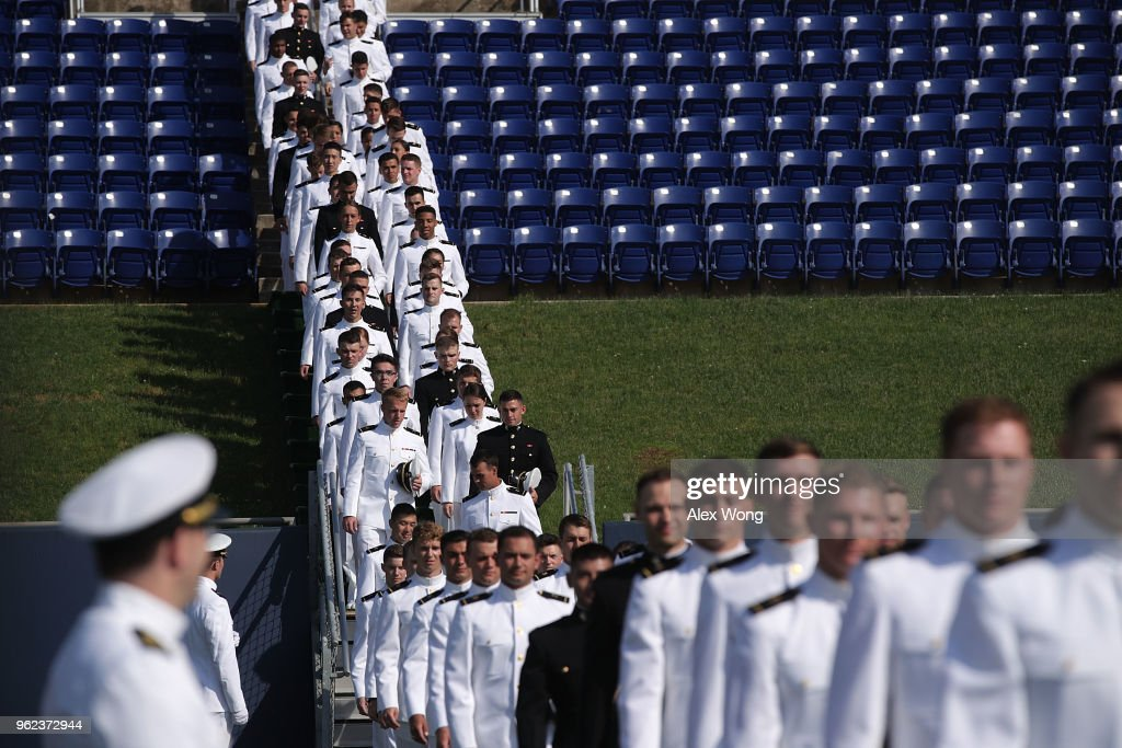 President Trump Addresses U.S. Naval Academy Graduation Ceremony