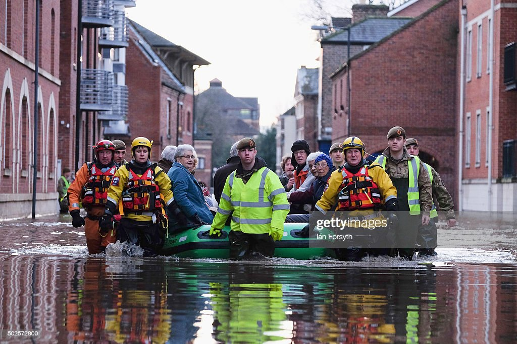 Severe Flooding Affects Northern England : News Photo