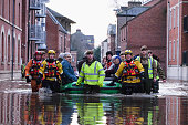 Severe Flooding Affects Northern England