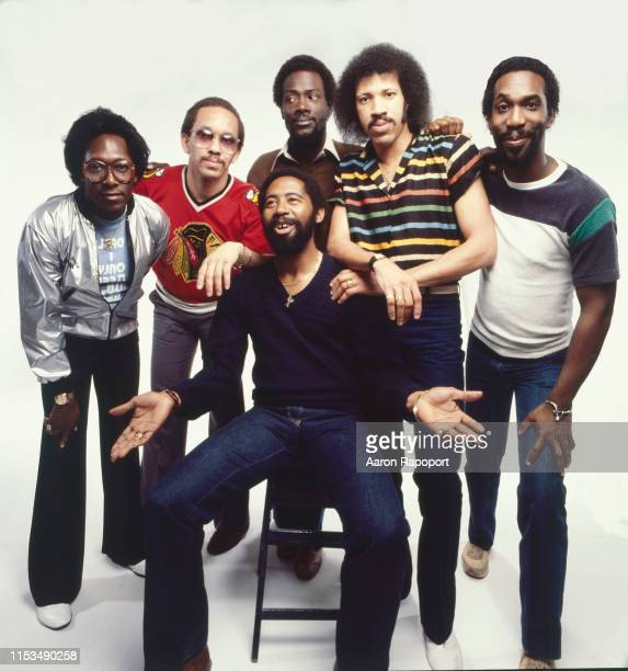 Members of Commodores poses for a portrait inLos Angeles California