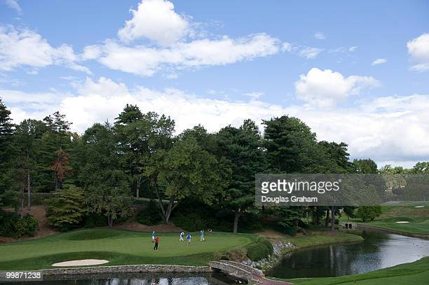 Members of Congress during the First Tee Congressional Challenge golf tournament at Columbia Country Club in Chevy Chase Maryland