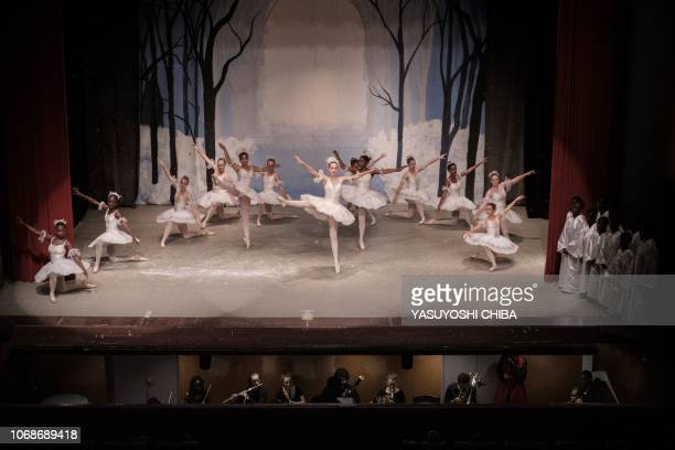 TOPSHOT Members of Dance Centre Kenya perform during the production of the 'Nutcracker' a ballet primarily performed during the Christmas period as...