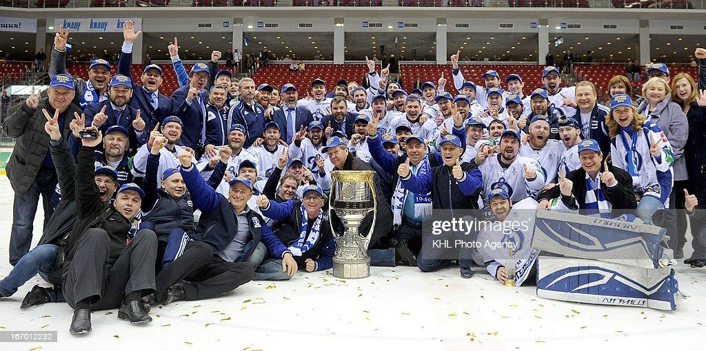 Dinamo Moscow v Traktor : News Photo