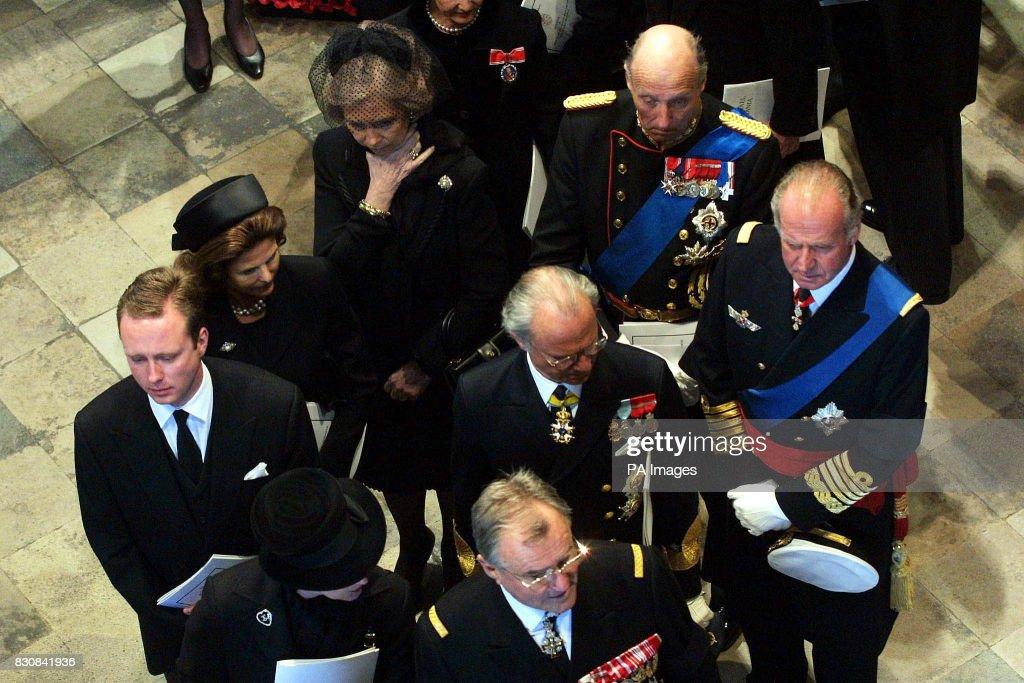 Queen Mother funeral / royals : News Photo
