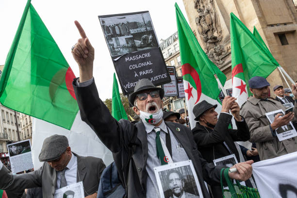 FRA: March Commemorates 60th Anniversary Of Attack On Algerian Protesters