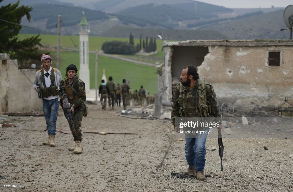 'Operation Olive Branch' to Afrin : News Photo