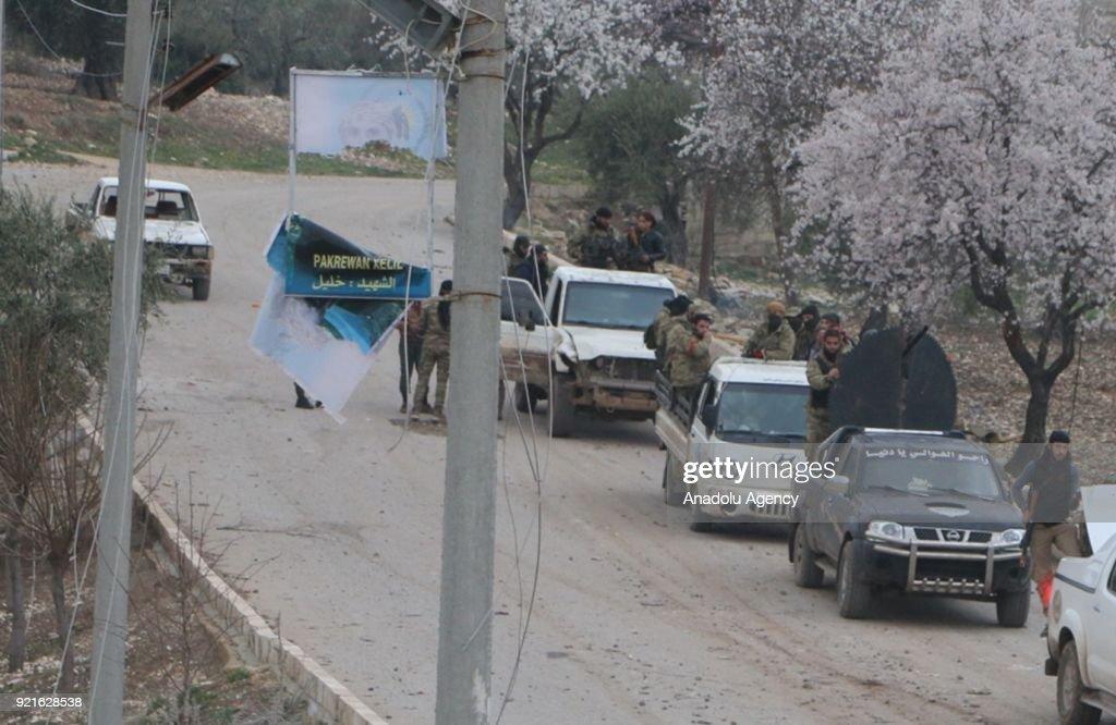'Operation Olive Branch' to Afrin : Foto di attualità