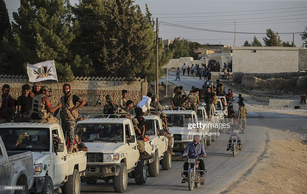 Operation 'Euphrates Shield' against Daesh : News Photo