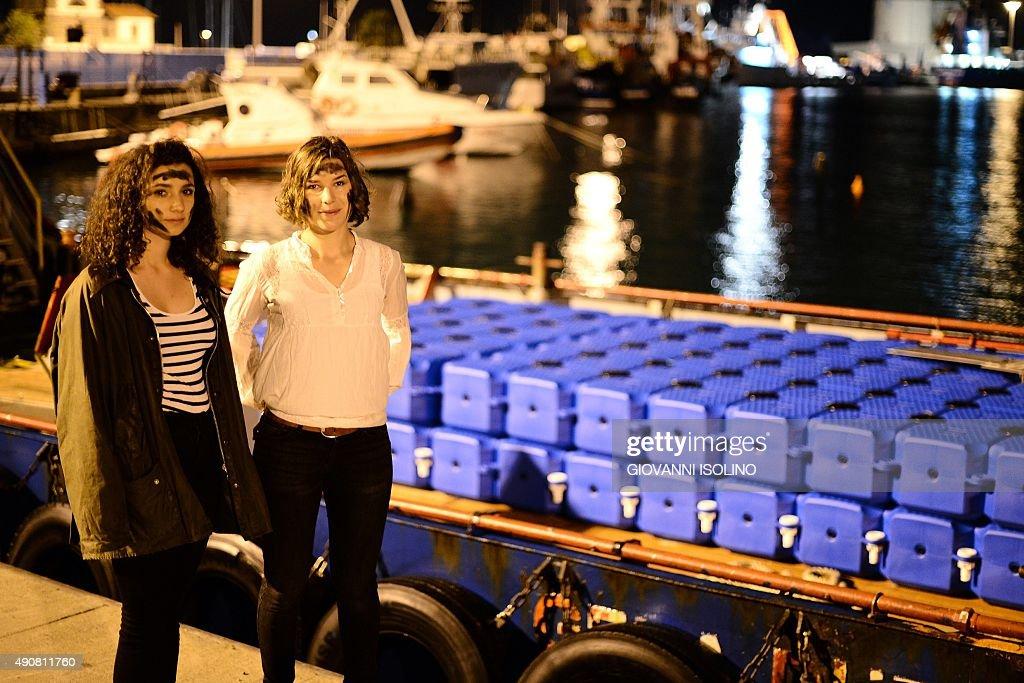 ITALY-IMMIGRATION-RESCUE-SEA : News Photo