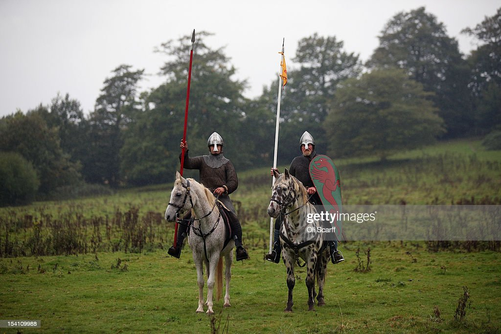 Enthusiasts Take Part In The Annual Reenactment Of The Battle Of Hastings : News Photo