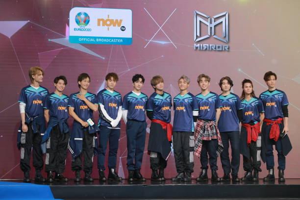 CHN: Hong Kong Boy Band Mirror Attends Commercial Event