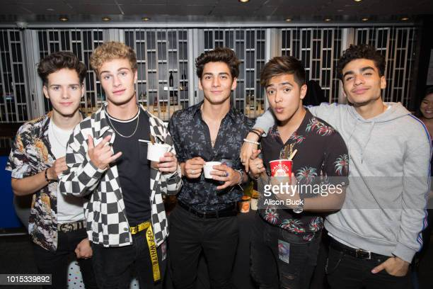 Members of In Real Life attend Backstage Creations Celebrity Retreat At Teen Choice 2018 Day 1 at The Forum on August 11 2018 in Inglewood California