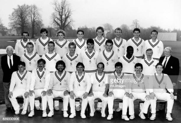 Members of Kent County Cricket Club for the 1989 season Back Row LR Alan Ealham Paul Farbrace Jonathan Longley Mar Ealham Vince Wells Matthew Fleming...