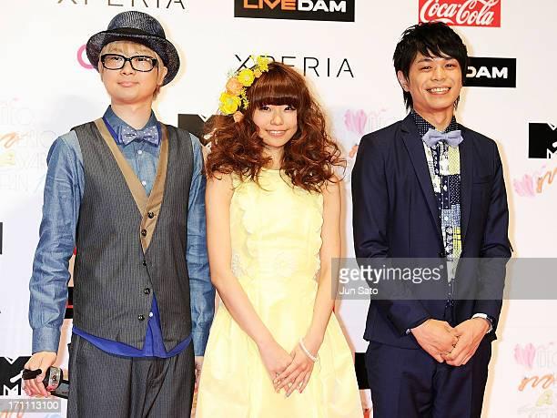 Members of Kerakera attends the MTV Video Music Awards Japan 2013 at Makuhari Messe on June 22 2013 in Chiba Japan