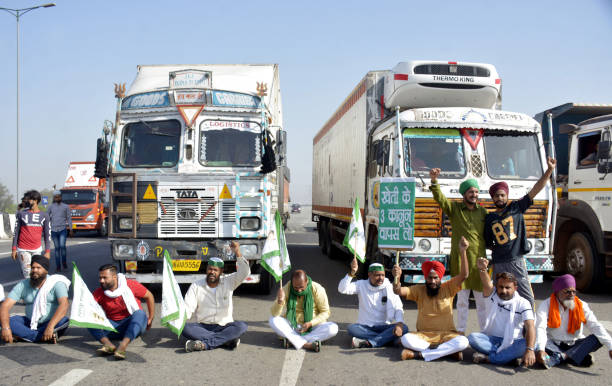 IND: Farmers Protest Against Farm Laws