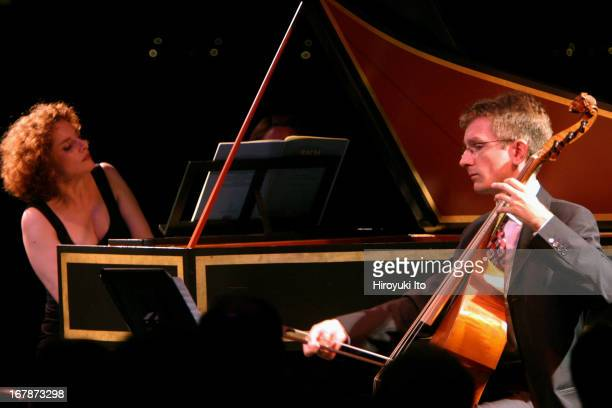 Members of Le Concert d'Astree presents 'A Little Night Music Mozart and Paris' at Kaplan Penthouse on late Saturday night August 6 2005The...