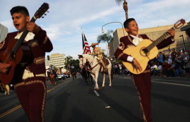CA: Santa Ana's Fiestas Patrias Parade Celebrates Mexican Independence Day