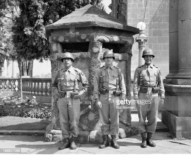 Members of Mexican Military 1955
