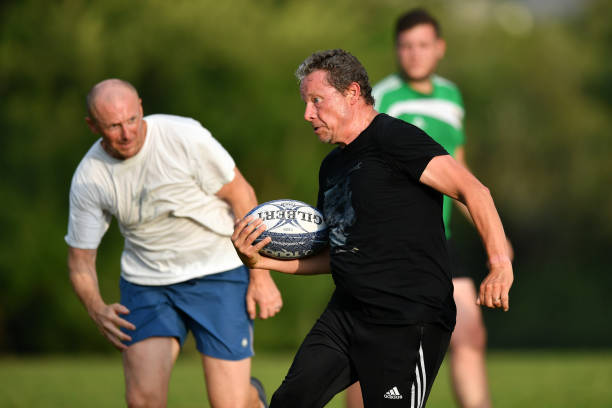 GBR: Amateur Rugby Teams Return To Large Group Training