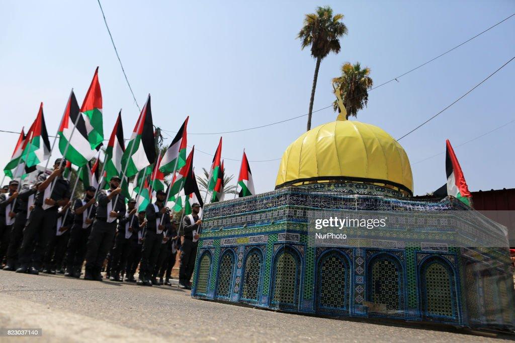 Military Parade In Gaza City : News Photo