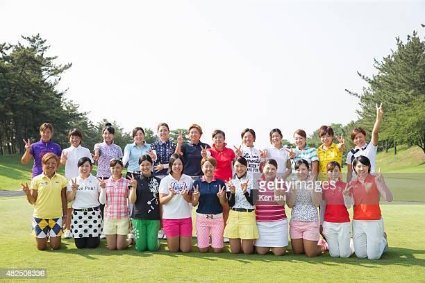 Members of passed a Pro Test Photograph Mayu Hamada Marika Komiya Mai Arai Sumika Nakasone Ayumi Oyama Akie Anno Chen I Wen Tsugumi Miyazaki Shiori...