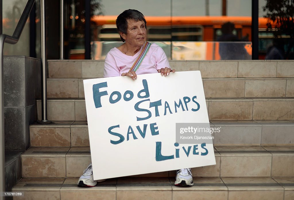 Activists Protest House Farm Bill Plan To Cut Food Assistance Program : News Photo