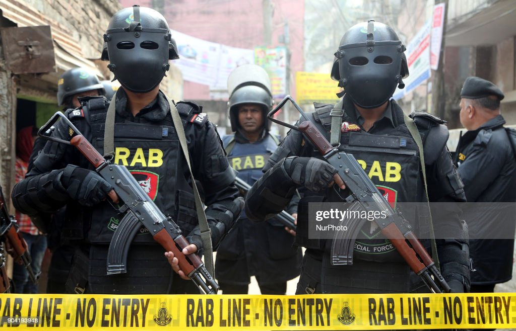 Three Militants Died in Dhaka : News Photo