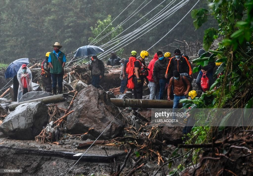 PANAMA-HURRICANE-ETA-AFTERMATH : News Photo