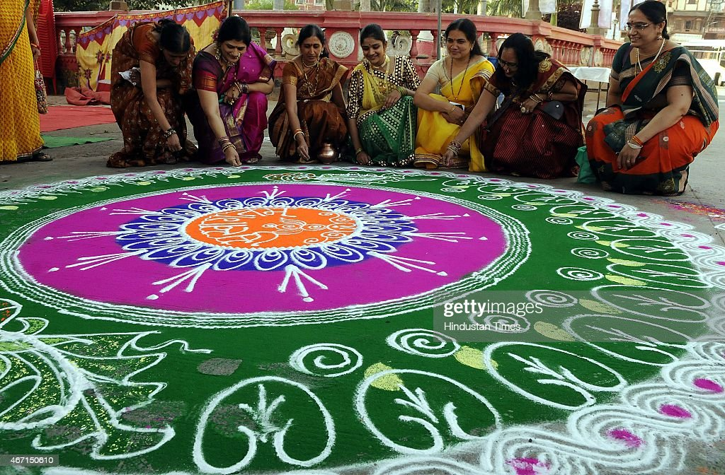 Gudi Padwa Festival Celebrations : News Photo