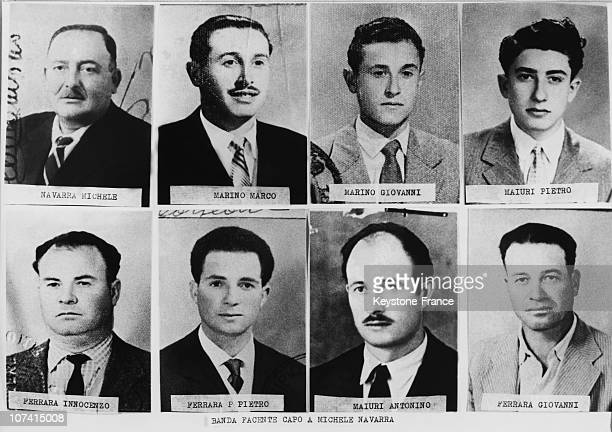 Members Of Sicilian Mafia Portraits