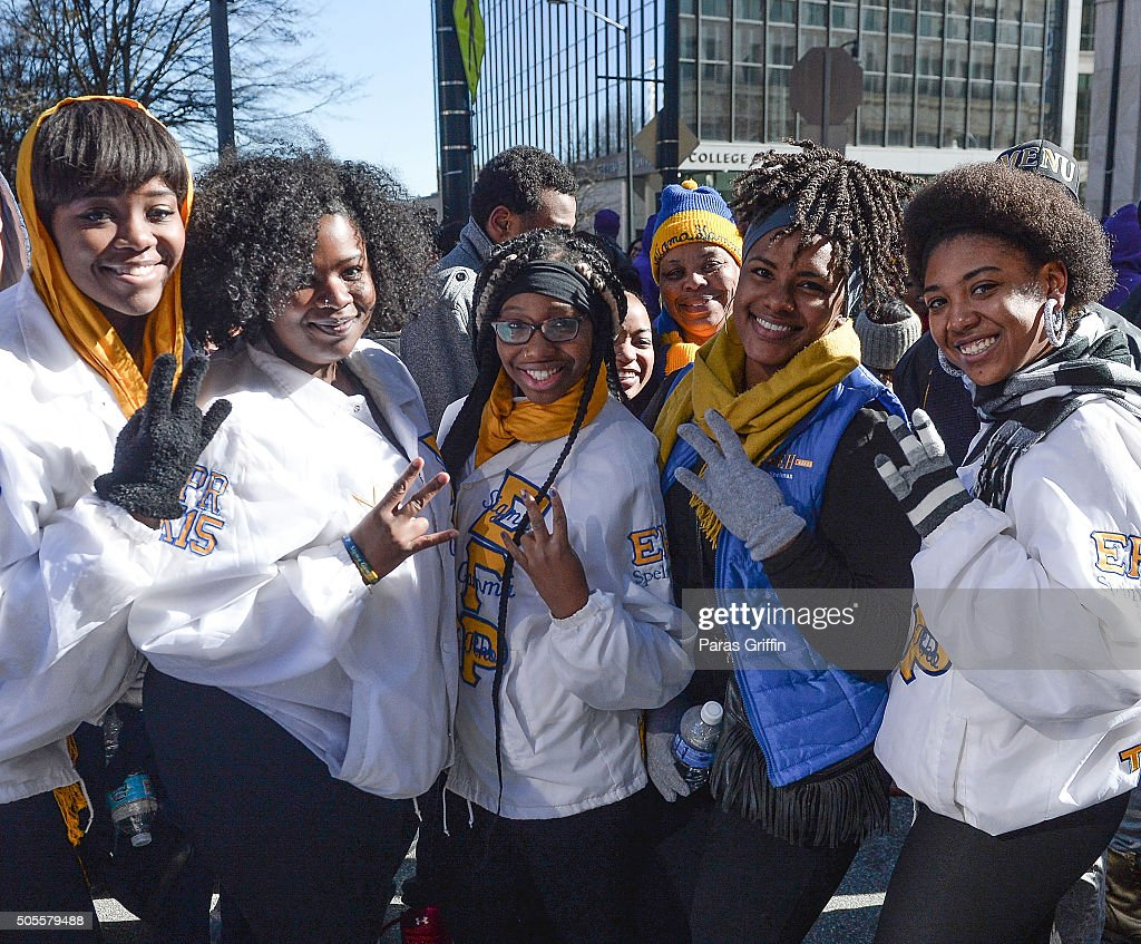 Martin Luther King Jr. Day Parade 2016 : News Photo