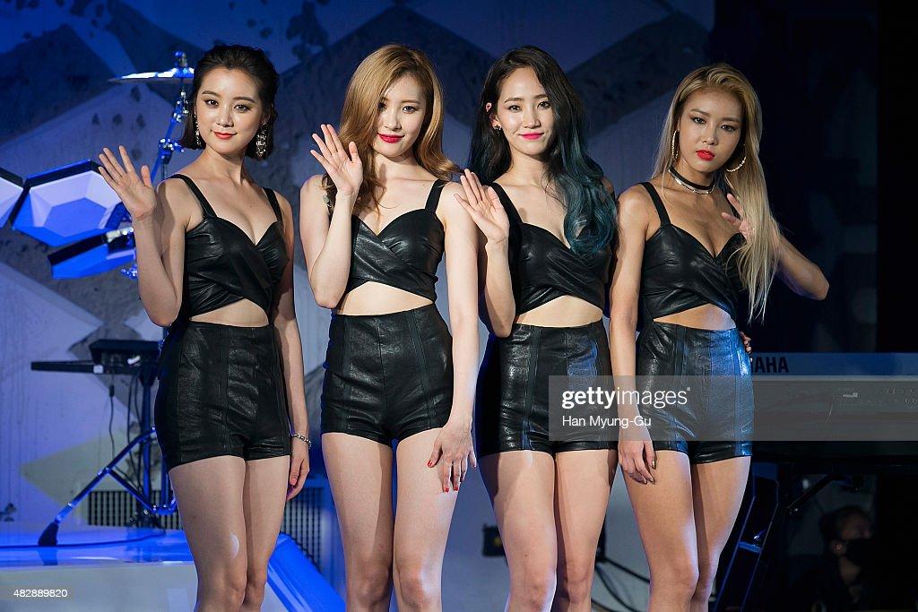 Wonder Girls Third Album 'Reboot' Showcase In Seoul : News Photo