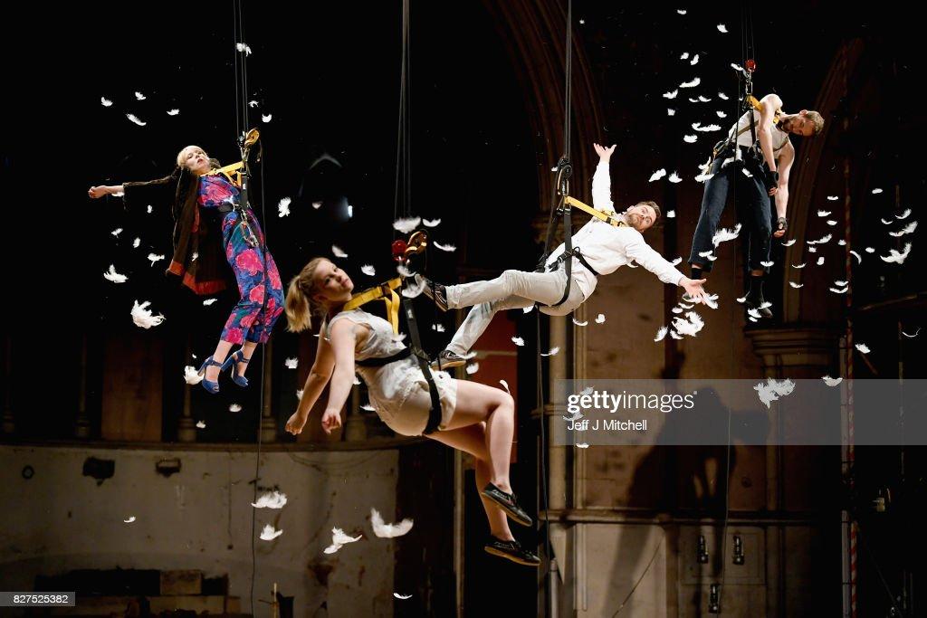 Volcano Theatre Group Presents 'Seagulls' at Edinburgh's Festival Fringe : News Photo