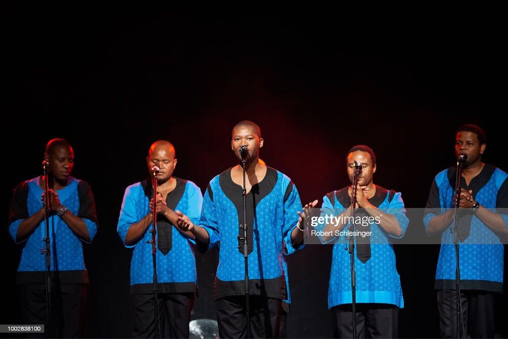 Ladysmith Black Mambazo Perform In Berlin