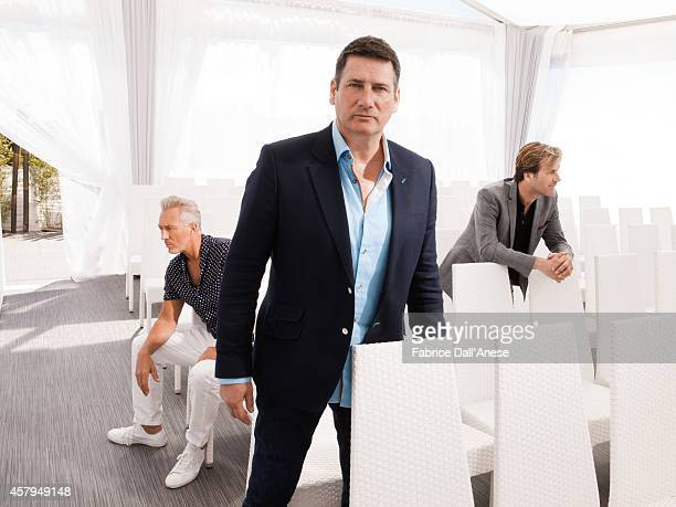 Members of Spandau Ballet are photographed for Vanity Fair Italy on May 15 2014 in Cannes France