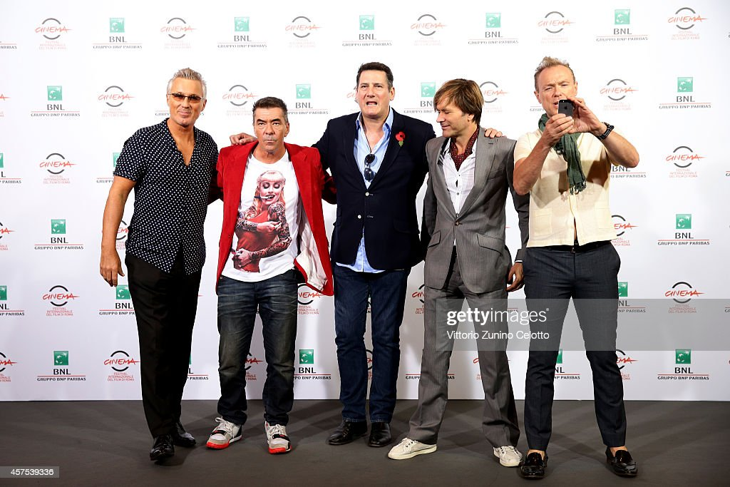 'Soul Boys of the Western World' Photocall - The 9th Rome Film Festival : News Photo