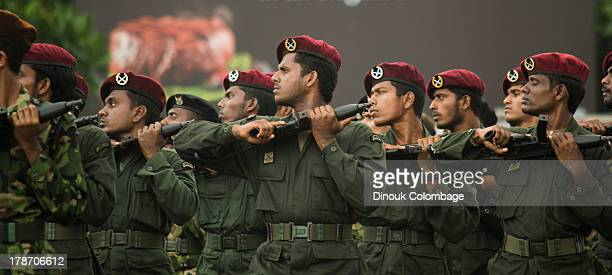 CONTENT] Members of Sri Lanka's Commando unit practice during the 2013 Victory Day rehearsals which were held in Colombo The Sri Lankan government...