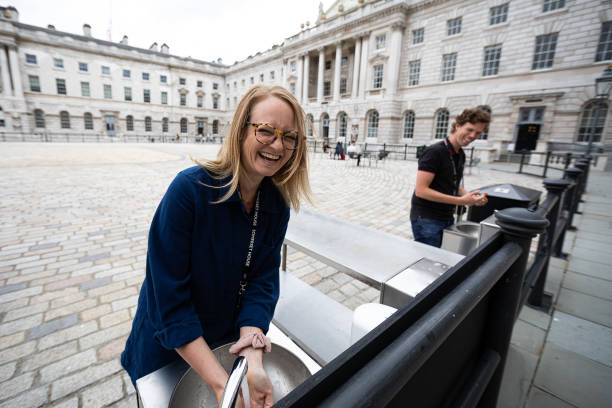 GBR: Somerset House Reopens To The Public After Lockdown